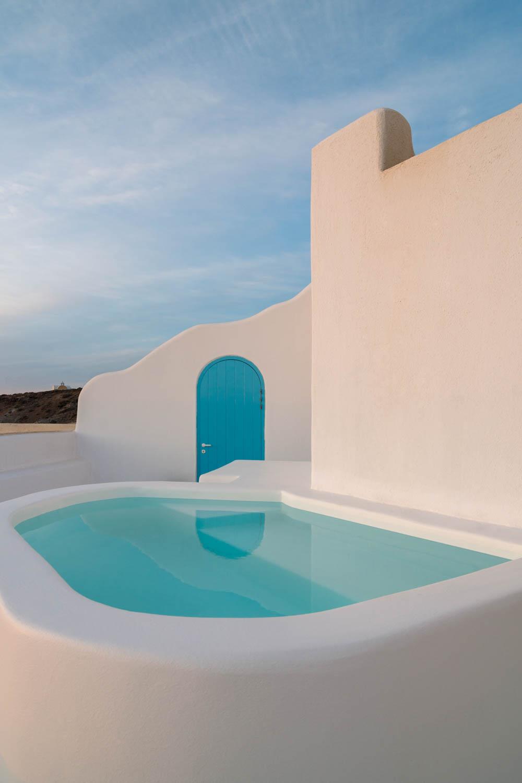 Ode Villa in Oia of Santorini Jacuzzi